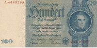 100 Reichsmark 1935(1945) Deutsches Reich,Drittes Reich, Ro.176c, Krieg... 19,99 EUR  zzgl. 1,80 EUR Versand