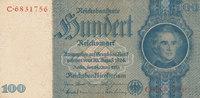 100 Reichsmark 1935(1945) Deutsches Reich,Drittes Reich, Ro.176c, Krieg... 17,99 EUR  zzgl. 1,80 EUR Versand