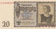 20 Reichsmark 1939(1945) Deutsches Reich,Drittes Reich, Ro.178a Udr.Bst... 29,99 EUR  zzgl. 1,80 EUR Versand