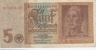 5 Reichsmark 1942 Deutsches Reich,Drittes Reich, Ro.179b, KN 8stellig, ... 3,99 EUR  zzgl. 1,80 EUR Versand