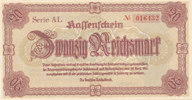 20 Reichsmark 1945 Deutsches Reich,Drittes Reich, Reichsverteidigungsbe... 7,99 EUR  zzgl. 1,80 EUR Versand