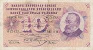 10 Franken 20.10.1955 Schweiz P45b gebraucht III-,  9,99 EUR  zzgl. 1,80 EUR Versand