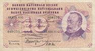 10 Franken 2.4.1964 Schweiz P45i gebraucht III-,  7,99 EUR  zzgl. 1,80 EUR Versand