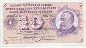 10 Franken 15.1.1969 Schweiz P45n gebraucht III,  14,99 EUR  zzgl. 1,80 EUR Versand
