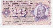 10 Franken 5.1.1970 Schweiz P45o leicht gebraucht II-,  14,99 EUR  zzgl. 1,80 EUR Versand