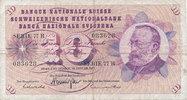10 Franken 24.1.1972 Schweiz P45Q gebraucht III-,  5,99 EUR  zzgl. 1,80 EUR Versand