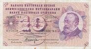 10 Franken 24.1.1972 Schweiz P45Q stark gebraucht IV+,Flecke,  4,99 EUR  zzgl. 1,80 EUR Versand