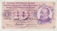 10 Franken 7.3.1973 Schweiz P45r gebraucht III,  5,99 EUR  zzgl. 1,80 EUR Versand