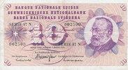 10 Franken 7.3.1973 Schweiz P45r gebraucht III,  7,99 EUR  zzgl. 1,80 EUR Versand