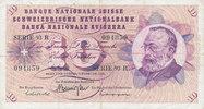 10 Franken 7.2.1974 Schweiz P45s stark gebraucht IV,Nadellöcher,  5,99 EUR  zzgl. 1,80 EUR Versand
