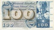 100 Franken 23.12.1965 Schweiz P49h gebraucht III,  44,99 EUR  zzgl. 4,00 EUR Versand
