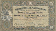 5 Franken 28.3.1952 Schweiz P151d gebraucht III-,  14,99 EUR  zzgl. 1,80 EUR Versand
