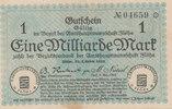 1 Milliarde Mark 1923 Deutschland,Sachsen, Flöha Amtshauptmannschaft, g... 9,99 EUR  zzgl. 1,80 EUR Versand