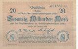 20 Milliarden Mark 1923 Deutschland,Sachsen, Flöha Amtshauptmannschaft,... 29,99 EUR  zzgl. 1,80 EUR Versand
