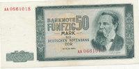 50 Mark 1964 Deutschland,DDR, Ro.357a, leicht gebraucht II,  29,99 EUR  Excl. 4,00 EUR Verzending