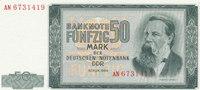 50 Mark 1964 Deutschland,DDR, Ro.357a Kassenfrisch I  49,99 EUR  Excl. 7,00 EUR Verzending