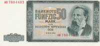 50 Mark 1964 Deutschland,DDR, Ro.357a fast Kassenfrisch I-  39,99 EUR  zzgl. 4,00 EUR Versand