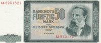 50 Mark 1964 Deutschland,DDR, Ro.357a leicht gebraucht II+,  34,99 EUR  Excl. 7,00 EUR Verzending