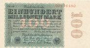100 Millionen Mark, 1923 Deutsches Reich,Weimarer Republik, Ro.106r Wz.... 39,99 EUR  Excl. 7,00 EUR Verzending