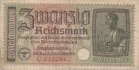 20 Reichsmark 1939-1944 Deutsches Reich,Drittes Reich, Ro.554a stark ge... 2,99 EUR  zzgl. 1,80 EUR Versand