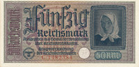 50 Reichsmark 1939-1944 Deutsches Reich,Drittes Reich, Ro.555a leicht g... 24,99 EUR  zzgl. 1,80 EUR Versand