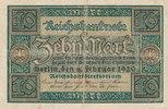10 Mark 1920 Deutsches Reich,Weimarer Republik, Ro.63c KN 8 stellig geb... 9,99 EUR  zzgl. 1,80 EUR Versand