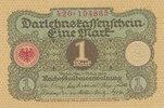 1 Mark 1920 Deutsches Reich,Weimarer Republik, Ro.64 fast Kassenfrisch I-  0,99 EUR  zzgl. 1,80 EUR Versand