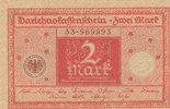 2 Mark 1920 Deutsches Reich,Weimarer Republik, Ro.65b Siegel braun, fas... 0,99 EUR  zzgl. 1,80 EUR Versand