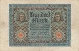 100 Mark 1920 Deutsches Reich,Weimarer Republik, Ro.67a KN 7 stellig, g... 0,99 EUR  zzgl. 1,80 EUR Versand