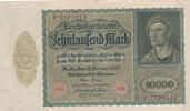 10000 Mark 1922 Deutsches Reich,Weimarer Republik, Ro.68b Rs.ohne Unter... 6,99 EUR  zzgl. 1,80 EUR Versand