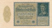 10000 Mark 1922 Deutsches Reich,Weimarer Republik, Ro.69c Firmendruck K... 0,99 EUR  zzgl. 1,80 EUR Versand