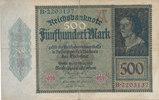 500 Mark 1922 Deutsches Reich,Weimarer Republik, Ro.70 stark gebraucht ... 2,99 EUR  zzgl. 1,80 EUR Versand