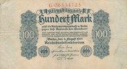 100 Mark 1922 Deutsches Reich,Weimarer Republik, Ro.72, gebraucht III-,  1,99 EUR  zzgl. 1,80 EUR Versand