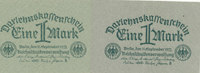 1 Mark 1922 Deutsches Reich,Weimarer Republik, Ro.73a Papier mattgrün u... 9,99 EUR  zzgl. 1,80 EUR Versand