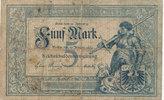 5 Mark, 1882 Deutsches Reich,Kaiserreich, Ro.6 stark gebraucht IV,  249,99 EUR  zzgl. 7,00 EUR Versand