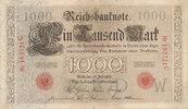 1000 Mark 1906 Deutsches Reich,Kaiserreich, Ro.26 Udr.Bst.W, Serie C, g... 49,99 EUR  Excl. 7,00 EUR Verzending