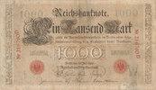 1000 Mark 1906 Deutsches Reich,Kaiserreich, Ro.26 Udr.Bst.W, Serie D, s... 29,99 EUR  Excl. 4,00 EUR Verzending