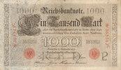 1000 Mark 1909 Deutsches Reich,Kaiserreich, Ro.39 Udr.Bst.P, Serie C, g... 29,99 EUR  Excl. 4,00 EUR Verzending