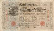 1000 Mark 1909 Deutsches Reich,Kaiserreich, Ro.39 Udr.Bst.P, Serie B, h... 34,99 EUR  Excl. 7,00 EUR Verzending