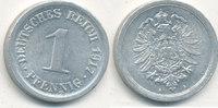 1 Pfennig 1917 Mz.A Deutsches Reich,Kaiserreich, J.300 Alu, vz+,  1,99 EUR  zzgl. 1,80 EUR Versand