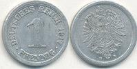 1 Pfennig 1917 Mz.D Deutsches Reich,Kaiserreich, J.300 Alu, ss+.  1,99 EUR  zzgl. 1,80 EUR Versand