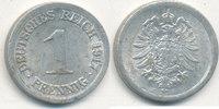 1 Pfennig 1917 Mz.J Deutsches Reich,Kaiserreich, J.300 Alu, ss,  2,99 EUR  zzgl. 1,80 EUR Versand
