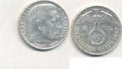 5 Reichsmark 1937 Mz.J Deutsches Reich,Drittes Reich, J.367 Paul von Hi... 13,99 EUR  zzgl. 1,80 EUR Versand