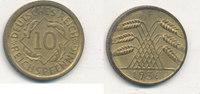 10 Reichspfennig 1936 Mz.F Deutsches Reich,Drittes Reich, J.317 Messing... 5,99 EUR  zzgl. 1,80 EUR Versand