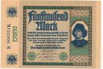 5000 Mark 1922 Deutsches Reich,Weimarer Republik, Ro.76 leicht gebrauch... 59,99 EUR  zzgl. 4,00 EUR Versand