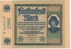 5000 Mark 1922 Deutsches Reich,Weimarer Republik, Ro.76 gebraucht III-,... 12,99 EUR  zzgl. 1,80 EUR Versand