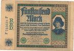 5000 Mark 1922 Deutsches Reich,Weimarer Republik, Ro.76 stark gebraucht... 5,99 EUR  zzgl. 1,80 EUR Versand