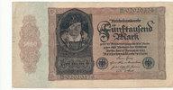 5000 Mark 1922 Deutsches Reich,Weimarer Republik, Ro.77 gebraucht III-,  5,99 EUR  zzgl. 1,80 EUR Versand