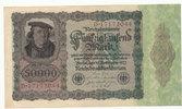 50000 Mark 1922 Deutsches Reich,Weimarer Republik, Ro.78 gebraucht III,  4,99 EUR  zzgl. 1,80 EUR Versand