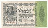 50000 Mark 1922 Deutsches Reich,Weimarer Republik, Ro.79a Reichsdruck,K... 6,99 EUR  zzgl. 1,80 EUR Versand